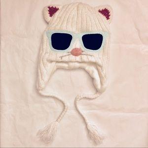 Cute Knitted Kitty Beanie 😻